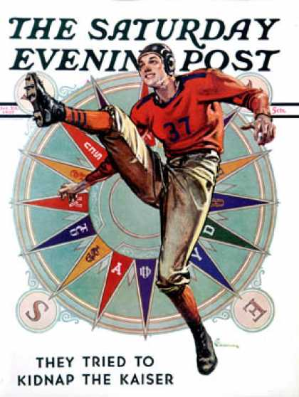 Saturday Evening Post - 1937-10-23: Kickoff (E. M. Jackson)