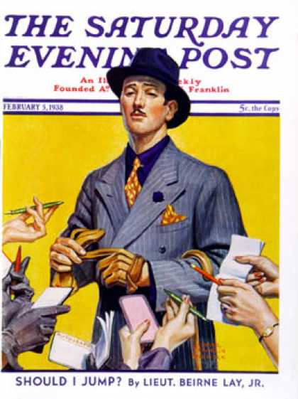 Saturday Evening Post - 1938-02-05: Movie Idol (Edgar Franklin Wittmack)