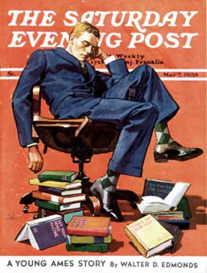Saturday Evening Post - 1938-05-07: Motivated to Sleep (John E. Sheridan)