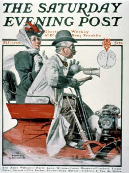 Saturday Evening Post - 1924-07-19 (Norman Rockwell)