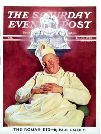 Saturday Evening Post - 1938-06-11: Cake Dream (John Newton Howitt)