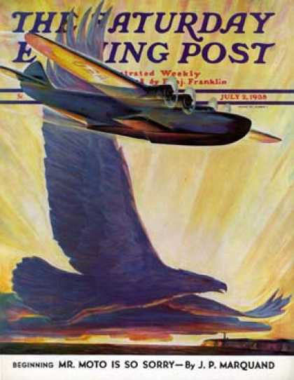 Saturday Evening Post - 1938-07-02: Foreshadowing Flight (William Heaslip)