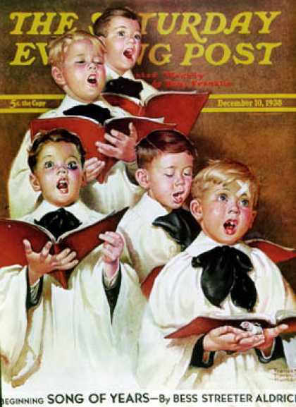 Saturday Evening Post - 1938-12-10: Choir Boys Will Be Boys (Frances Tipton Hunter)