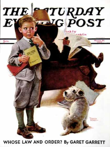 Saturday Evening Post - 1939-03-25: Report Card (Frances Tipton Hunter)