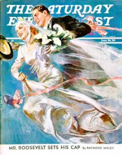Saturday Evening Post - 1939-06-24: Wedding Day (John LaGatta)