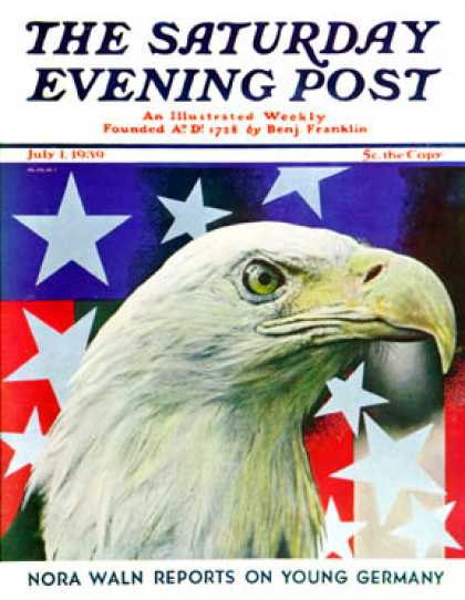 Saturday Evening Post - 1939-07-01: Sam the American Eagle (Arthur H. Fisher)