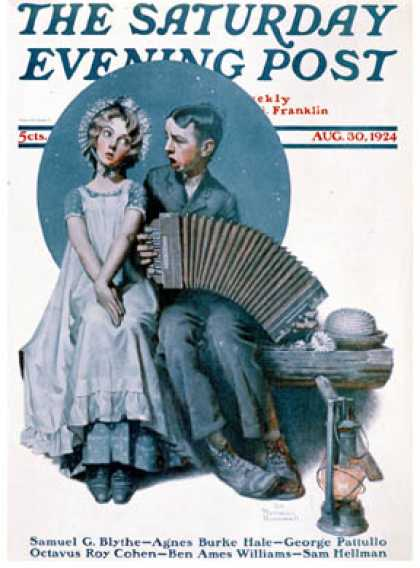 Saturday Evening Post - 1924-08-30 (Norman Rockwell)