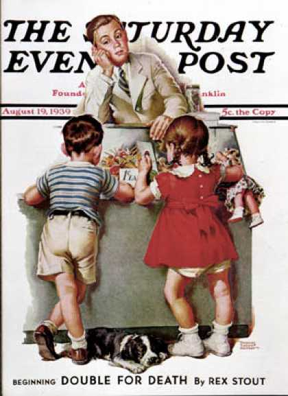 Saturday Evening Post - 1939-08-19: Penny Candy (Frances Tipton Hunter)