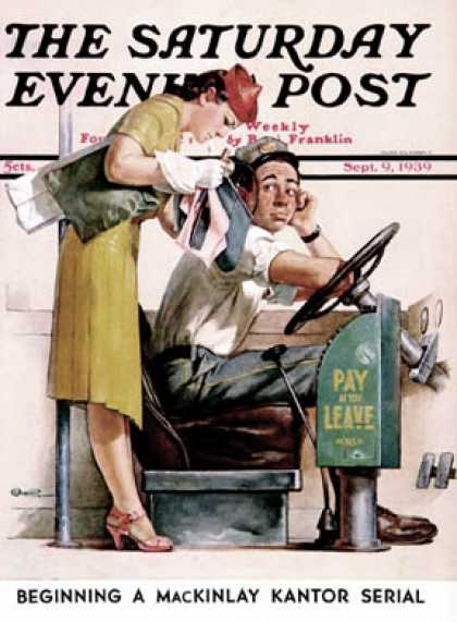 Saturday Evening Post - 1939-09-09: Bus Fare (McCauley Conner)