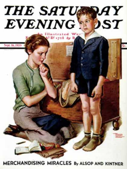 Saturday Evening Post - 1939-09-16: Growing Boy (Frances Tipton Hunter)