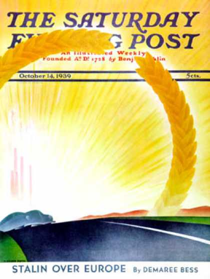 Saturday Evening Post - 1939-10-14: Golden City (H. Wilson Smith)