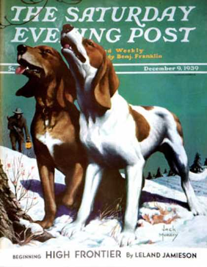 Saturday Evening Post - 1939-12-09: Hound Dog (Jack Murray)