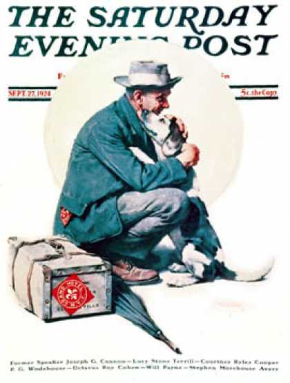 Saturday Evening Post - 1924-09-27 (Norman Rockwell)