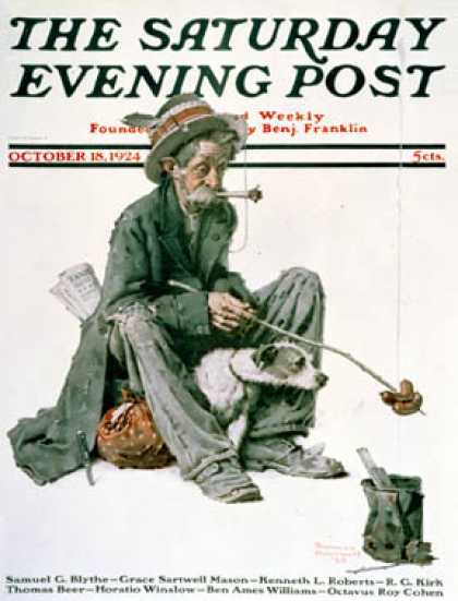 Saturday Evening Post - 1924-10-18 (Norman Rockwell)