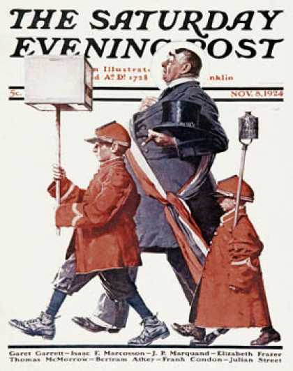 Saturday Evening Post - 1924-11-08 (Norman Rockwell)