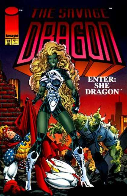 Savage Dragon 12 - Erik Larsen