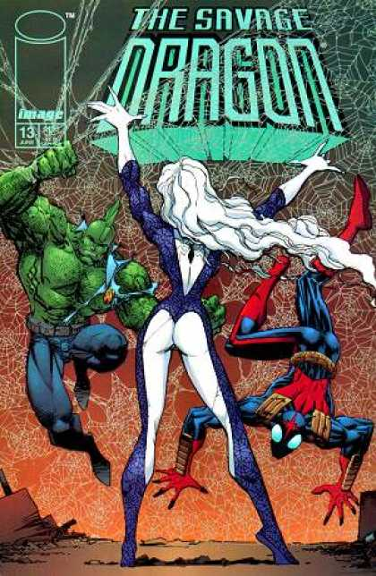Savage Dragon 13 - Web - Jim Lee