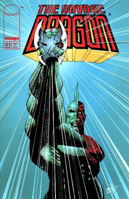 Savage Dragon 21 - Worlds Big Hero - Thrilling Man - Magiclal Hero - Men With Full Power - Rising Star - Erik Larsen