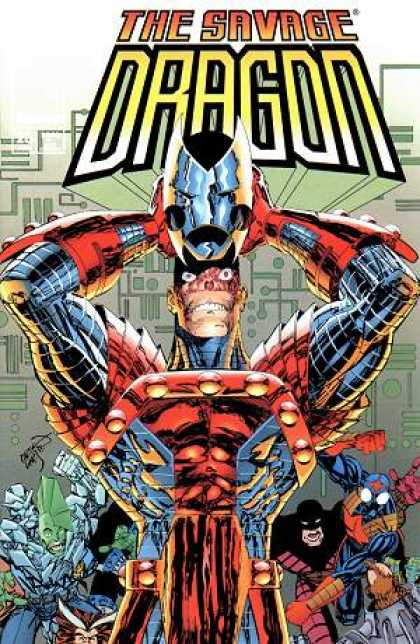 Savage Dragon 26 - Armor - Helmet - Technology - Mask - Metal - Erik Larsen