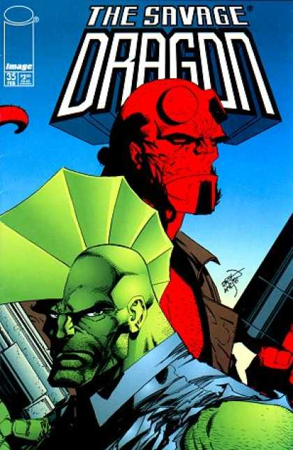 Savage Dragon 35 - Hellboy - Erik Larsen