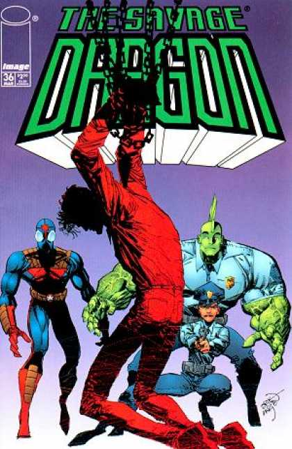 Savage Dragon 36 - Erik Larsen