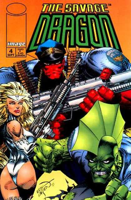 Savage Dragon 4 - Erik Larsen