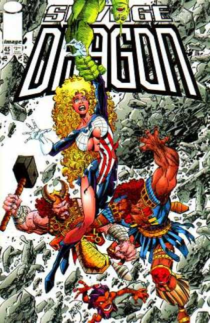 Savage Dragon 45 - Erik Larsen