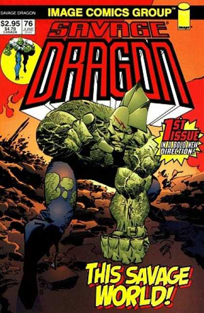 Savage Dragon 76 - Erik Larsen