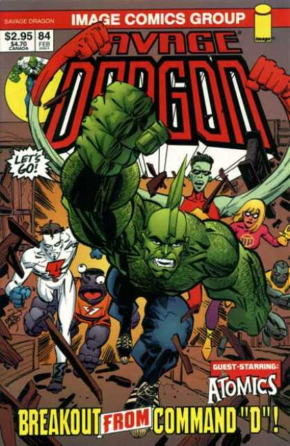 Savage Dragon 84 - Erik Larsen