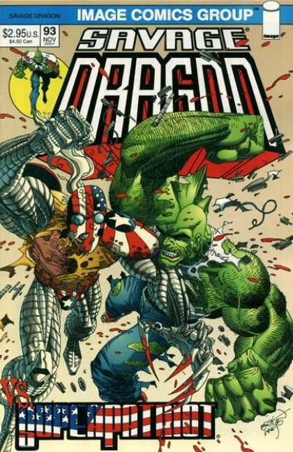 Savage Dragon 93 - 295 - 93 Nov - Erik Larsen