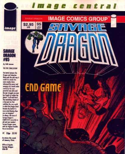 Savage Dragon 95 - Its Out Of My Hands - Going Down - Its An Upside Down World - Going So Soon - Have A Nice Trip - Erik Larsen
