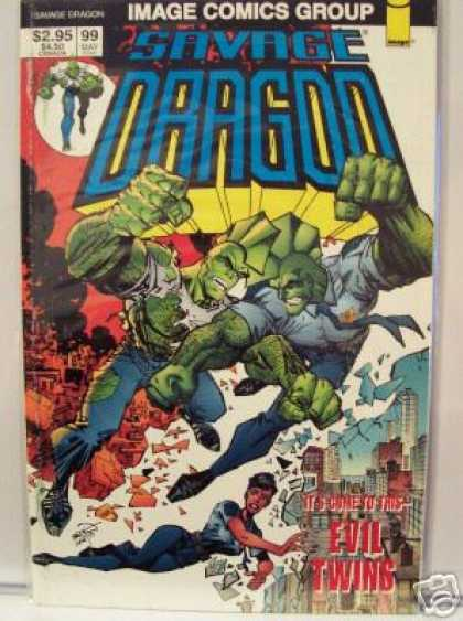 Savage Dragon 99 - Erik Larsen