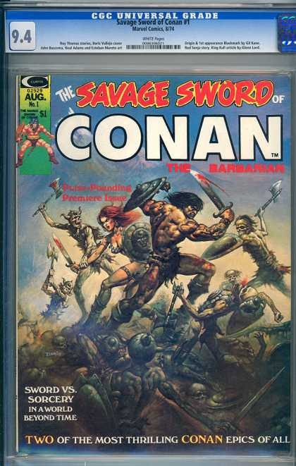 Savage Sword of Conan 1 - Boris Vallejo
