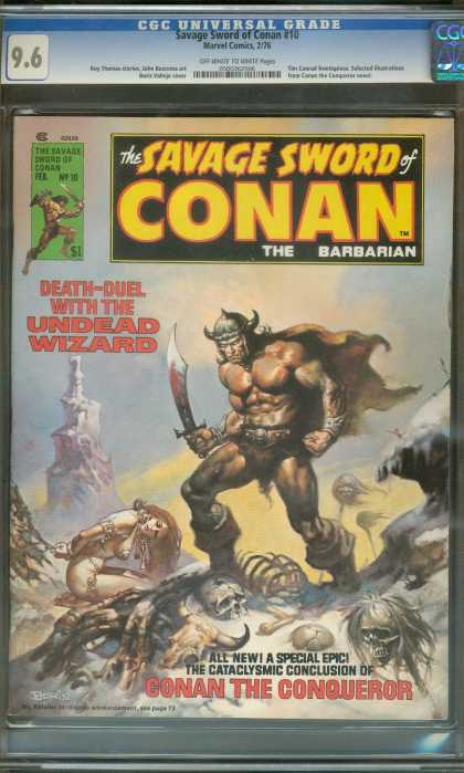 Savage Sword of Conan 10 - Boris Vallejo