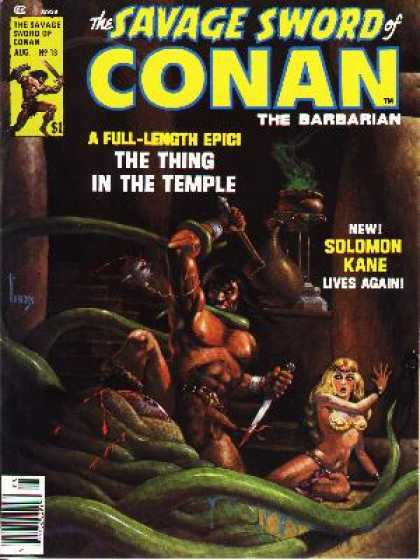 Savage Sword of Conan 13