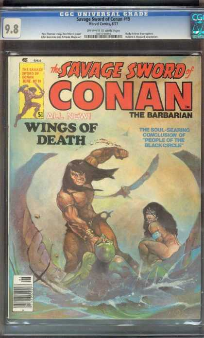 Savage Sword of Conan 19