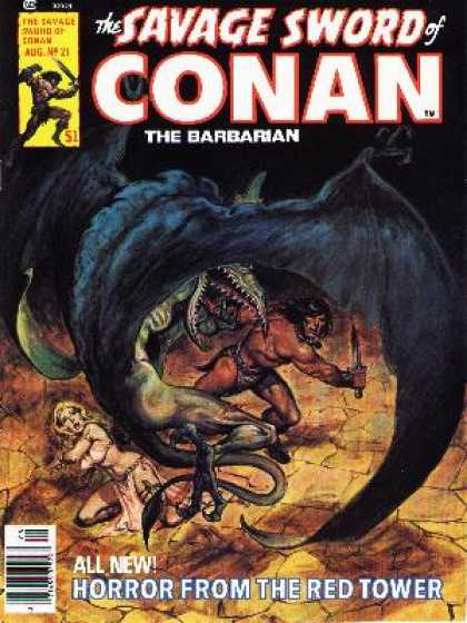 Savage Sword of Conan 21