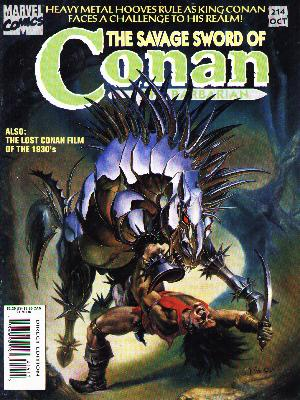 Savage Sword of Conan 214 - Julie Bell
