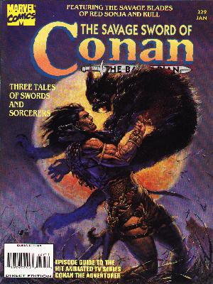 Savage Sword of Conan 229