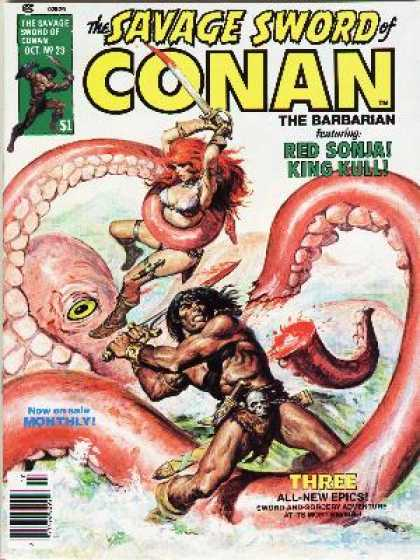 Savage Sword of Conan 23