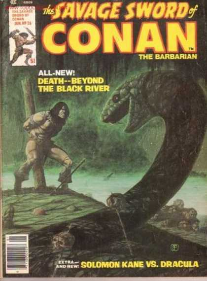 Savage Sword of Conan 26 - Jim Starlin