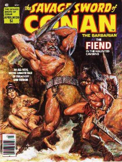 Savage Sword of Conan 28
