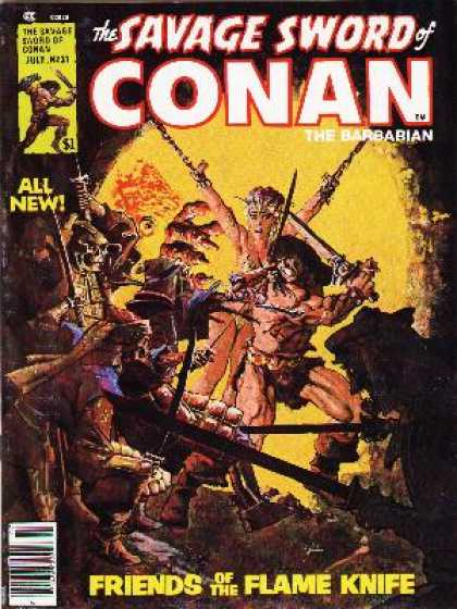 Savage Sword of Conan 31 - Howard Chaykin
