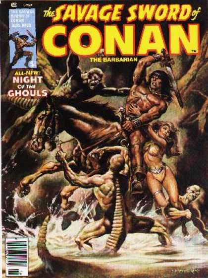 Savage Sword of Conan 32 - Horse - Strong Man - Women - Devil - Rescue