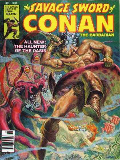Savage Sword of Conan 37