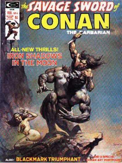 Savage Sword of Conan 4 - Boris Vallejo