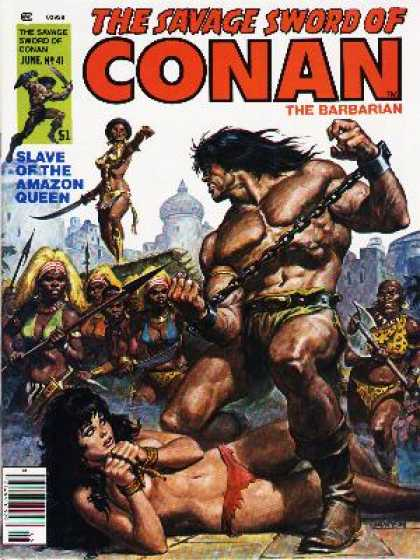 Savage Sword of Conan 41