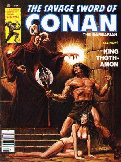 Savage Sword of Conan 43