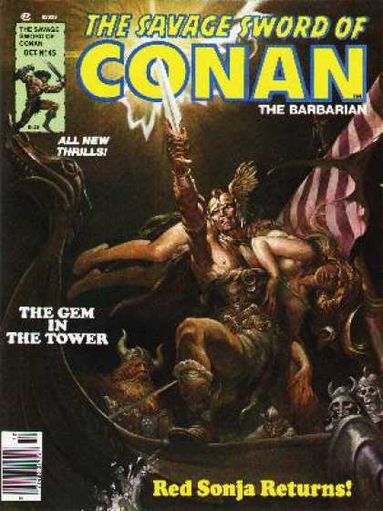 Savage Sword of Conan 45 - Nestor Redondo
