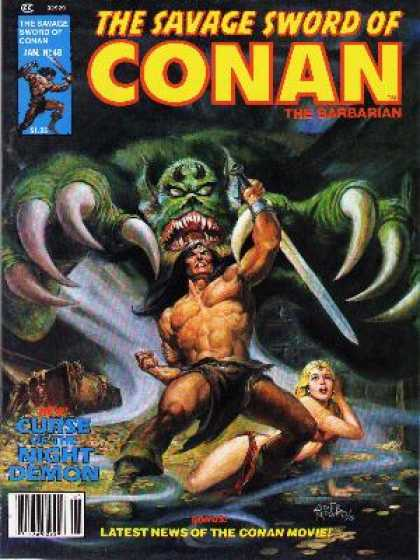 Savage Sword of Conan 48 - Nestor Redondo